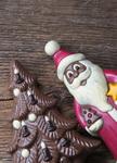 Schokoladenweihnachtsfiguren